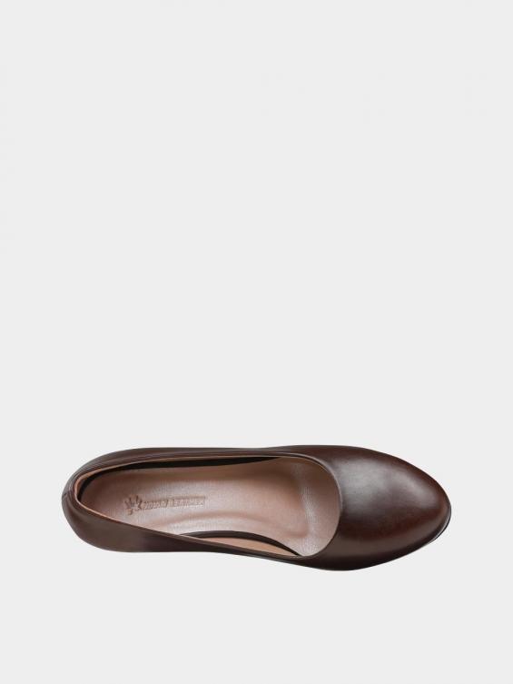 کفش مجلسی زنانه 700 WS3014 E  قهوه ای داخل