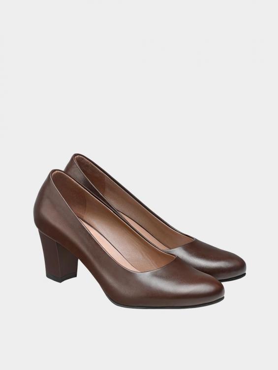 کفش مجلسی زنانه 700 WS3014 E  قهوه ای جفت