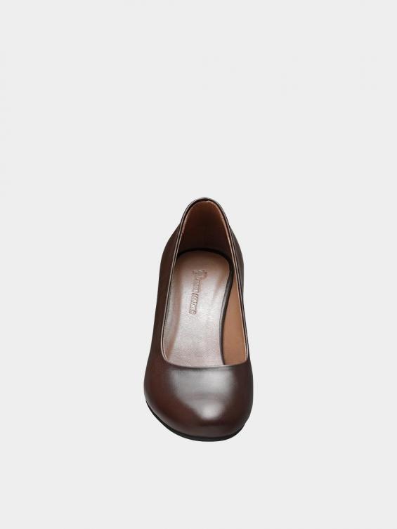 کفش مجلسی زنانه 700 WS3014 E  قهوه ای نمای جلو