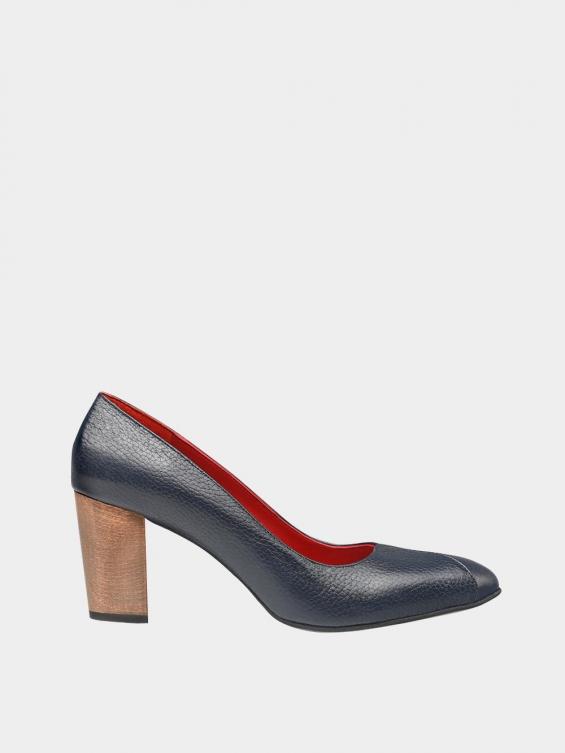 کفش مجلسی زنانه 1347   WS3219  سرمه ای راست
