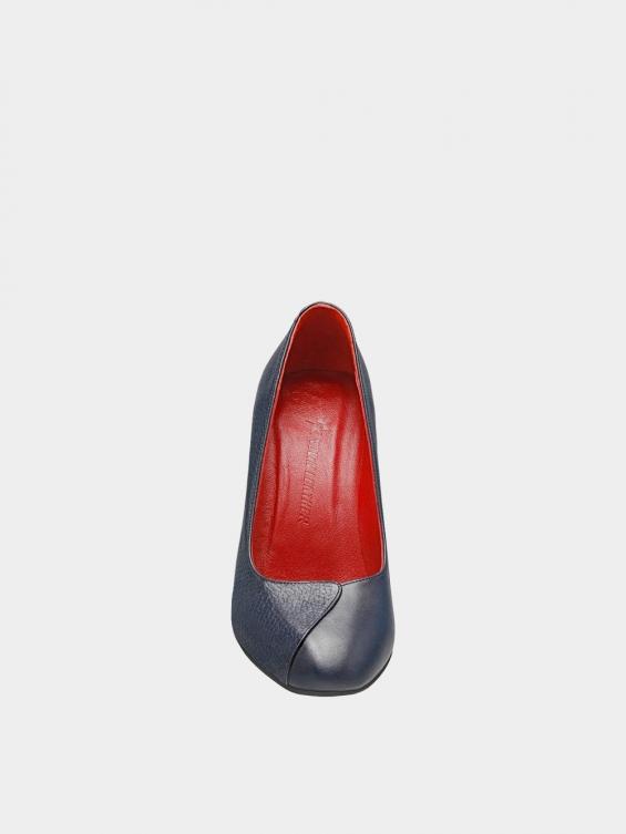 کفش مجلسی زنانه 1347   WS3219  سرمه ای جلو