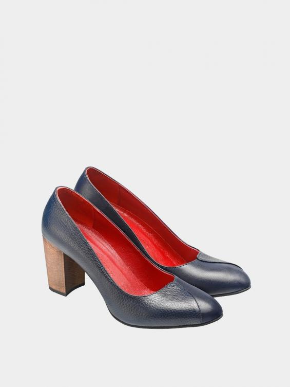 کفش مجلسی زنانه 1347   WS3219  سرمه ای جفت