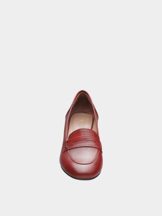 کفش مجلسی زنانه 0028 WS3152 E زرشکی جلو