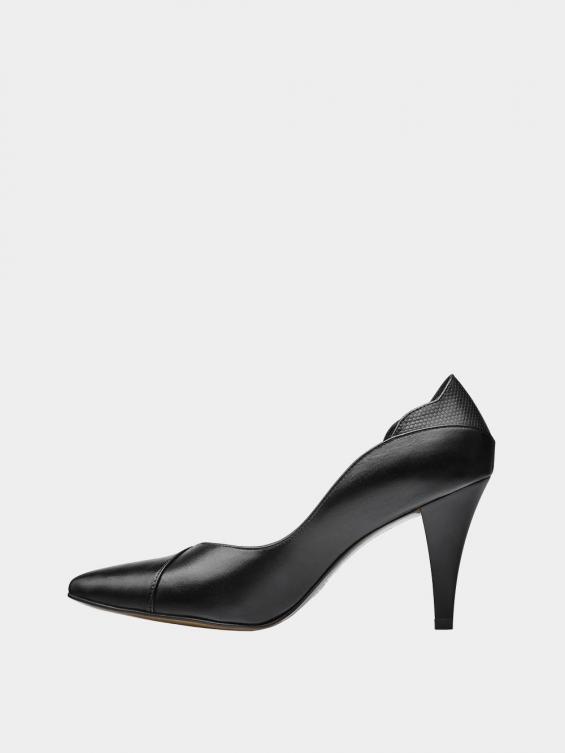 کفش مجلسی زنانه 1340 WS3185  مشکی چپ