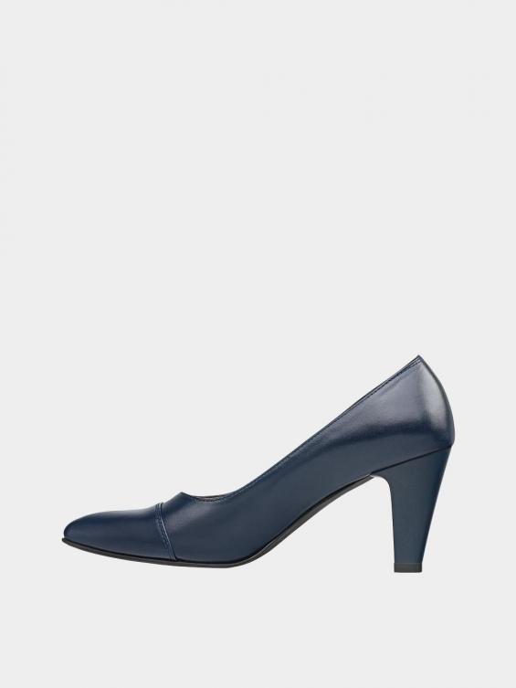 کفش مجلسی زنانه 0029 WS3153 E سرمه ای چپ