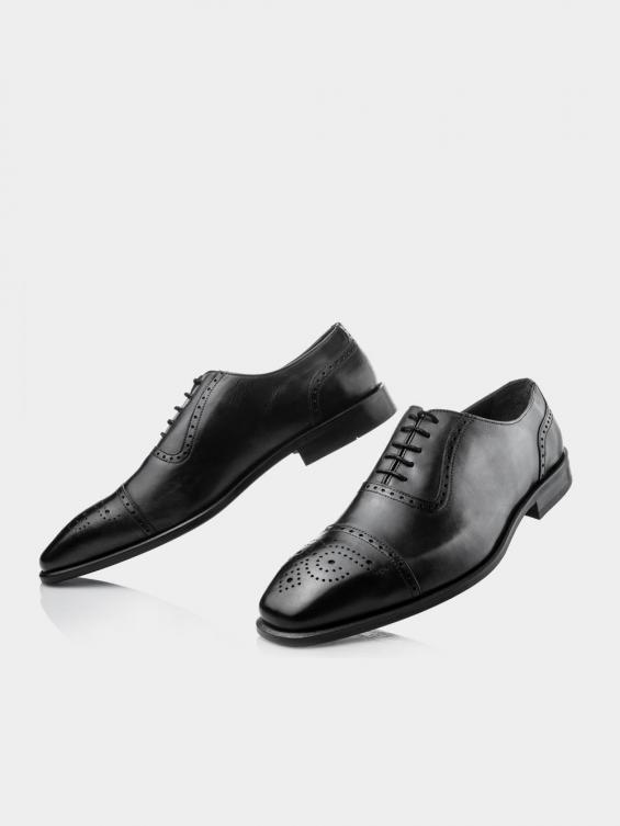 کفش کلاسیک مردانه 2399 MS2642 RV رنگ مشکی