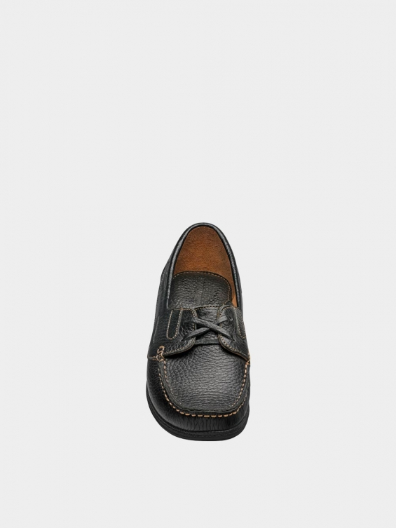 کفش کالج زنانه لینا WS3175 مشکی نمای جلو