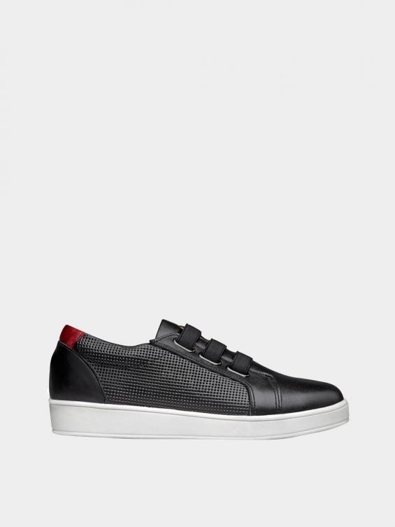 کفش اسپورت زنانه 1348 WS3222 رنگ مشکی راست