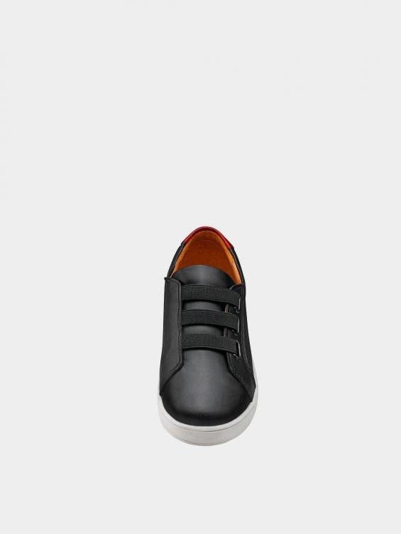 کفش اسپورت زنانه 1348 WS3222 رنگ مشکی نمای جلو