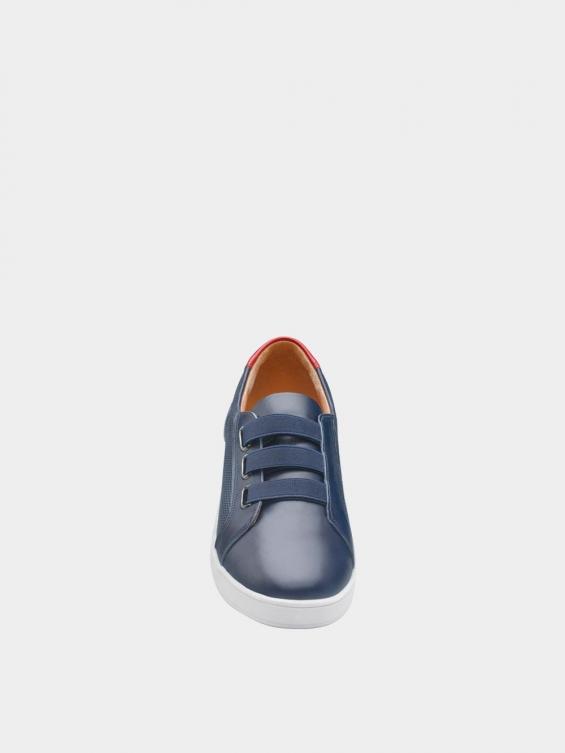 کفش اسپورت زنانه 1348 WS3222  سرمه ای نمای جلو