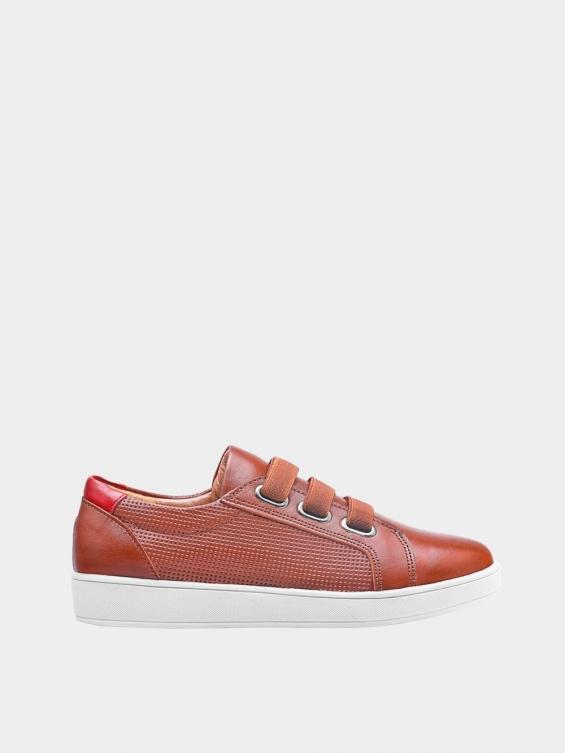 کفش اسپورت زنانه 1348 WS3222  عسلی راست