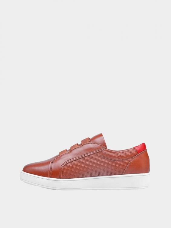 کفش اسپورت زنانه 1348 WS3222  عسلی چپ