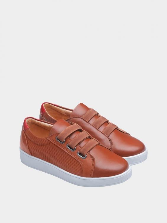 کفش اسپورت زنانه 1348 WS3222  عسلی جفت