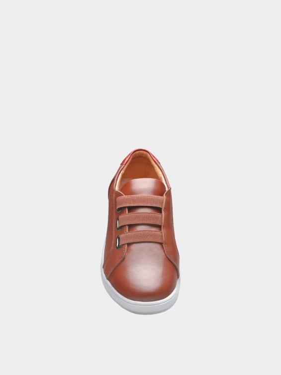 کفش اسپورت زنانه 1348 WS3222  عسلی نمای جلو