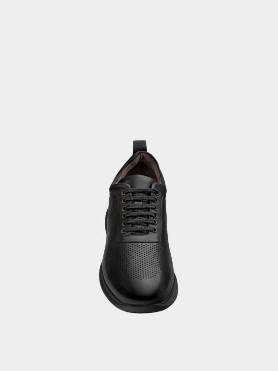 کفش اسپورت مردانه 1333 MS2793 مشکی نمای جلو