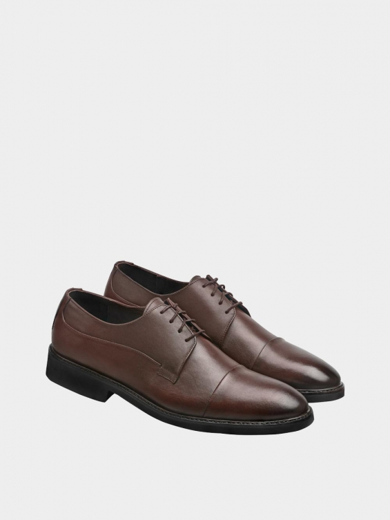 کفش کلاسیک مردانه 3937 MS2790 قهوه ای  جفت