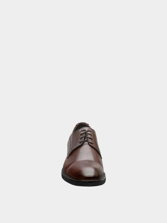 کفش کلاسیک مردانه 3937 MS2790 قهوه ای  نمای جلو