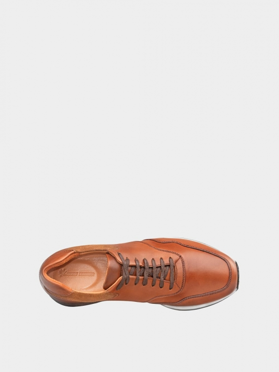 کفش اسپورت مردانه 40071 MS2686 عسلی داخل