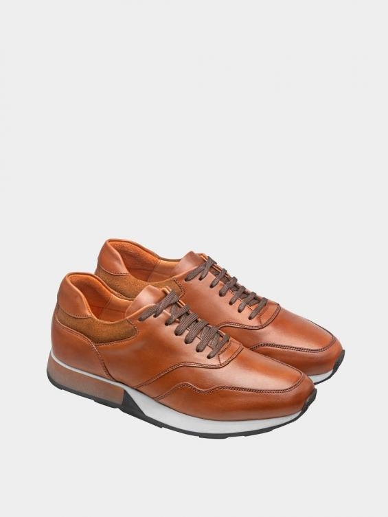 کفش اسپورت مردانه 40071 MS2686 عسلی جفت