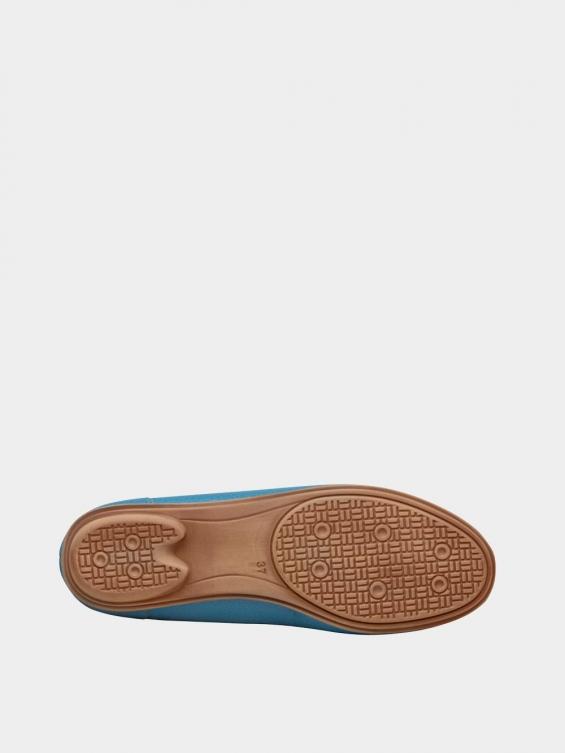 کفش کالج زنانه گیتا WS3057  آّبی زیره
