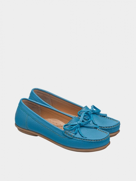 کفش کالج زنانه گیتا WS3057  آّبی جفت