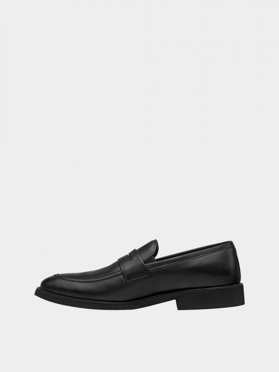 کفش کالج مردانه 3938  MS2791 مشکی چپ