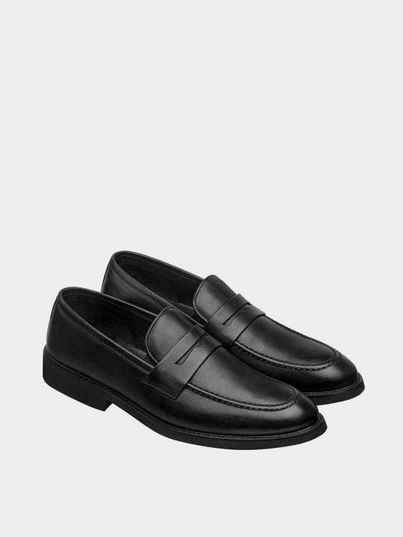 کفش کالج مردانه 3938  MS2791 مشکی جفت