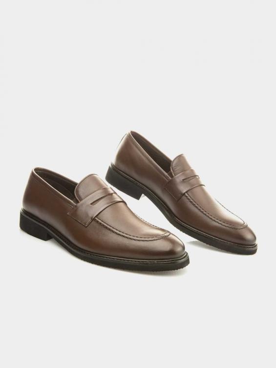 کفش کالج مردانه 3938  MS2791 قهوه ای جفت