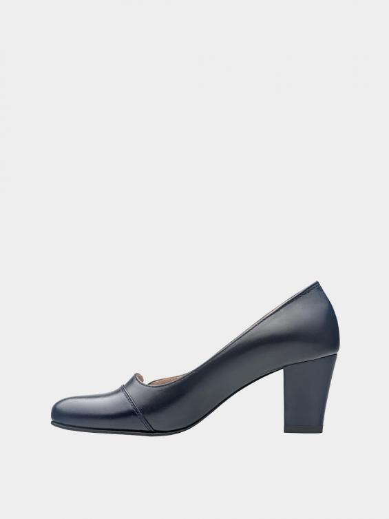 کفش مجلسی زنانه 9007 WS3110 E سرمه ای چپ