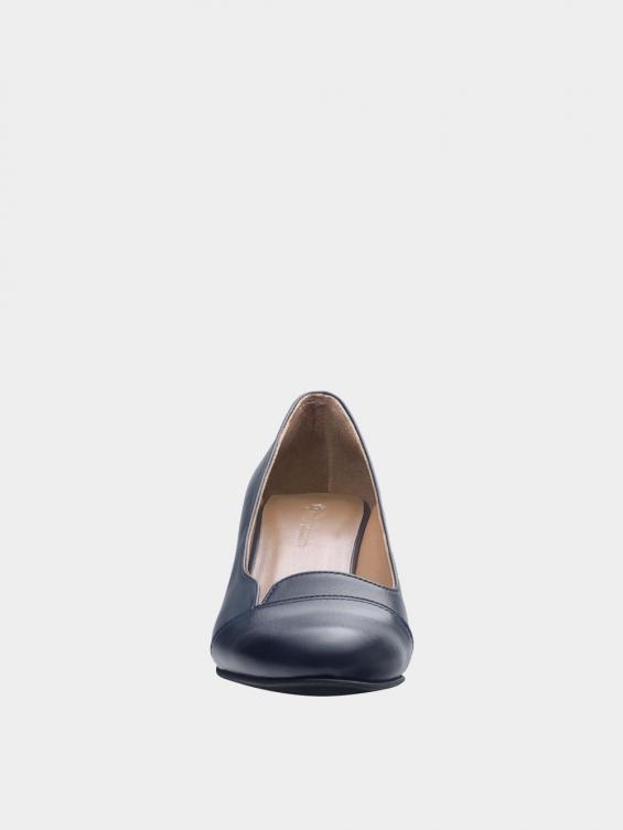 کفش مجلسی زنانه 9007 WS3110 E سرمه ای نمای جلو