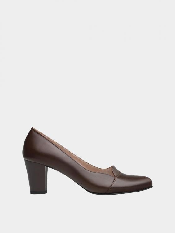 کفش مجلسی زنانه 9007 WS3110  قهوه ای راست