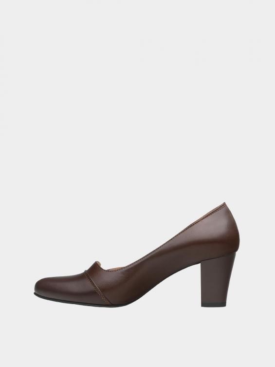 کفش مجلسی زنانه 9007 WS3110  قهوه ای چپ