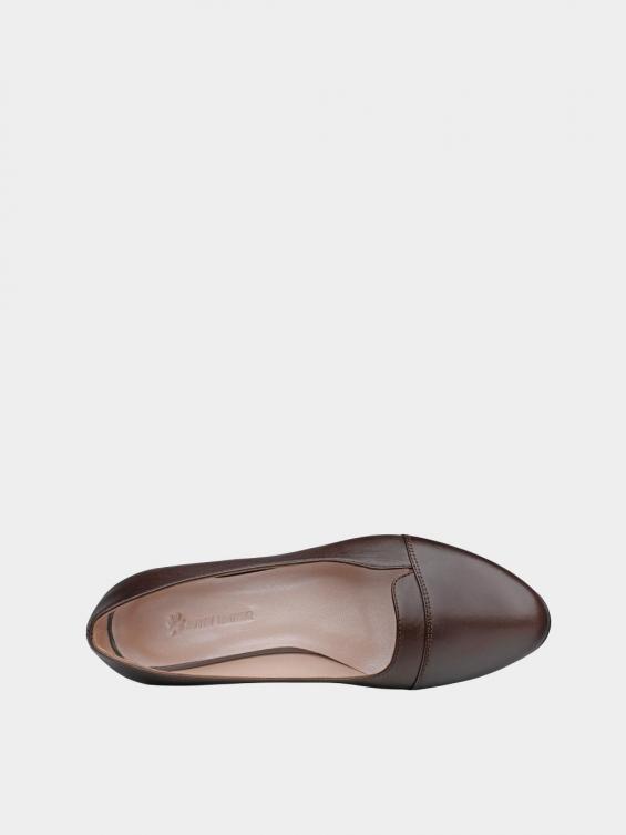 کفش مجلسی زنانه 9007 WS3110  قهوه ای داخل
