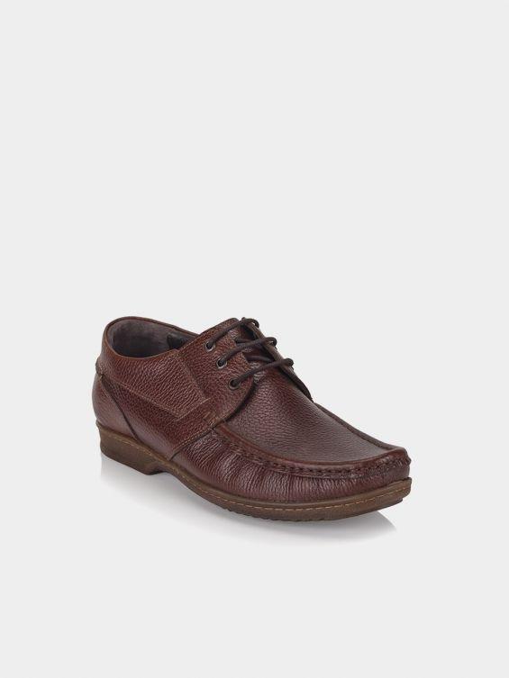 کفش کالج مردانه کلمبیا MS2320 NF رنگ قهوه ای نمای بغل