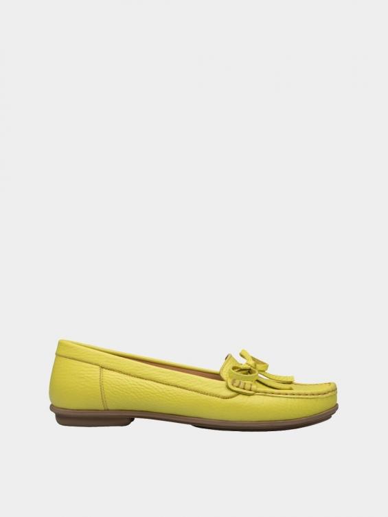کفش کالج زنانه گیتا WS3057 زرد راست