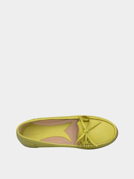کفش کالج زنانه گیتا WS3057 زرد داخل