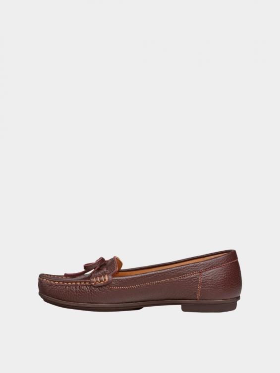 کفش کالج زنانه گیتا WS3057 قهوه ای چپ