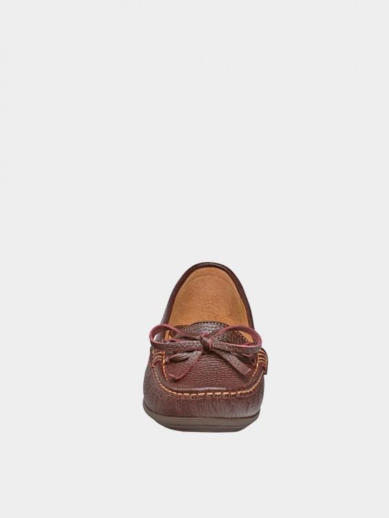 کفش کالج زنانه گیتا WS3057 قهوه ای نمای جلو