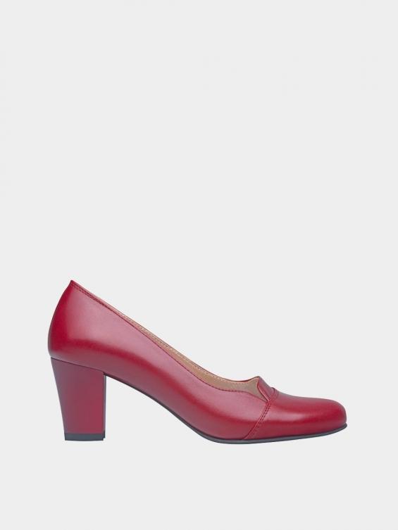 کفش مجلسی زنانه 9007 WS3110 قرمز راست