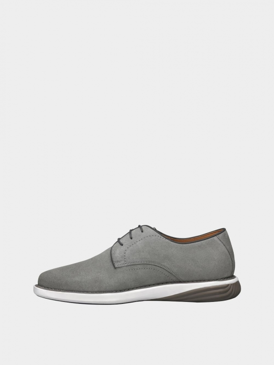 کفش اسپورت مردانه 1124 MS2777 طوسی چپ