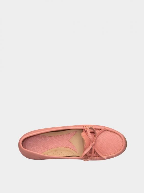 کفش کالج زنانه گیتا WS3057 صورتی نمای داخل