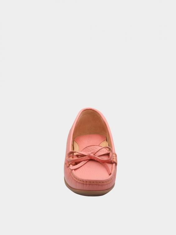 کفش کالج زنانه گیتا WS3057 صورتی نمای جلو