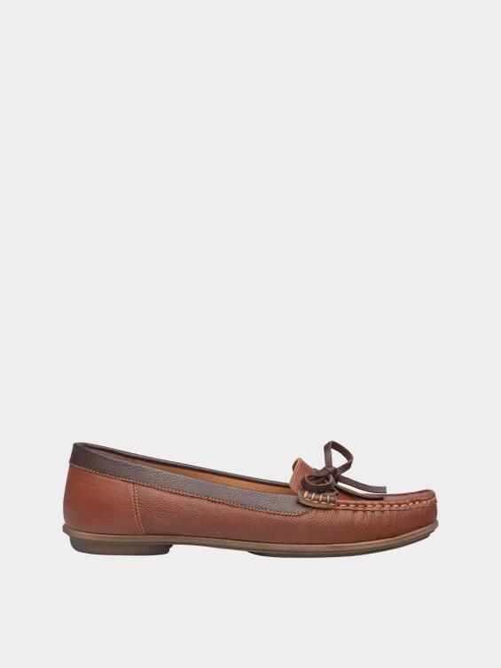 کفش کالج زنانه گیتا WS3057 عسلی راست