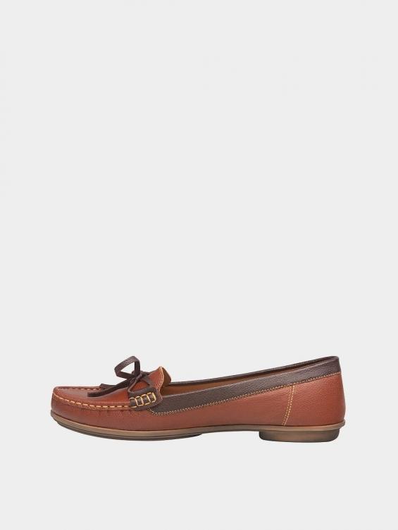 کفش کالج زنانه گیتا WS3057 عسلی چپ