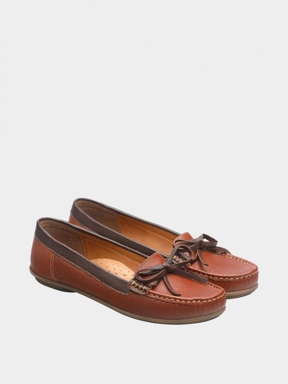 کفش کالج زنانه گیتا WS3057 عسلی جفت