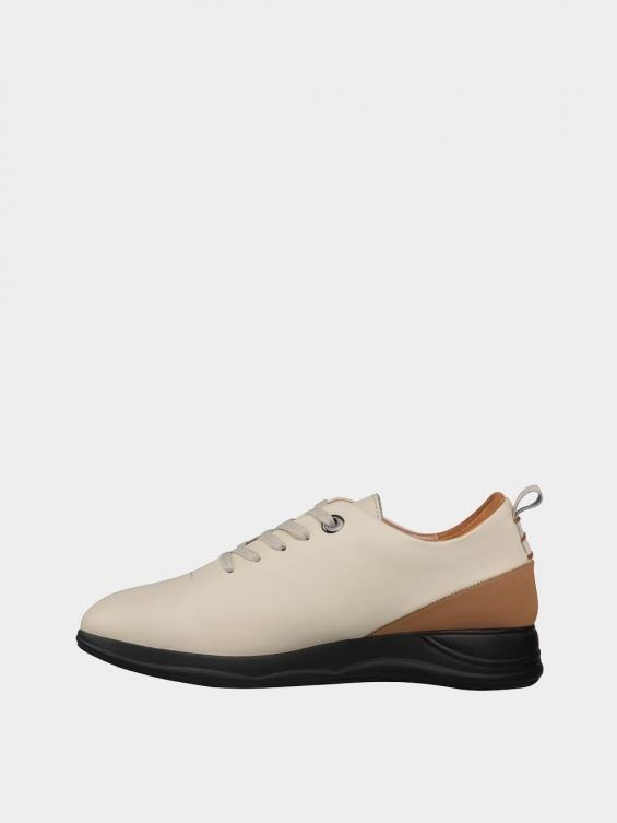 کفش اسپورت زنانه 1353 WS3220 شیری چپ