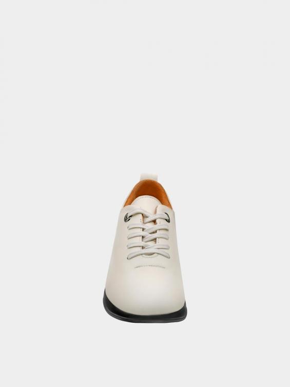 کفش اسپورت زنانه 1353 WS3220 شیری نمای جلو