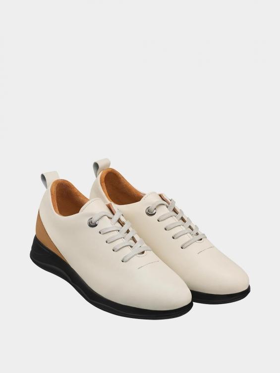 کفش اسپورت زنانه 1353 WS3220 شیری جفت