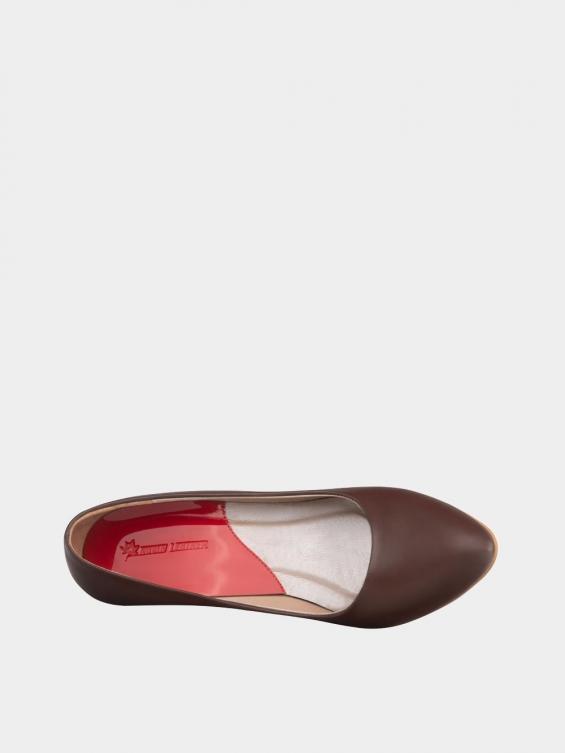 کفش مجلسی زنانه 361 WS3101  قهوه ای داخل