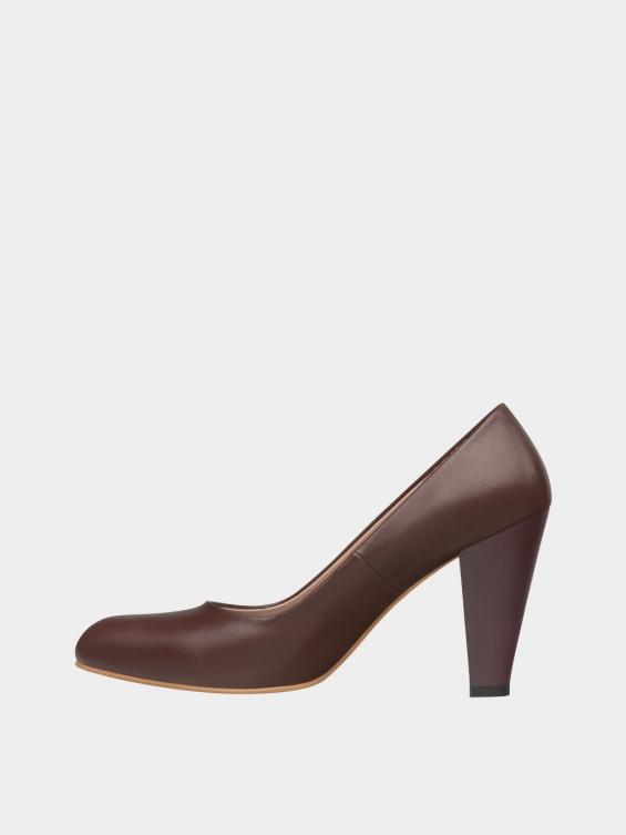 کفش مجلسی زنانه 361 WS3101  قهوه ای چپ